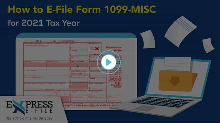 How to File Form 1099-MISC for 2020 tax year