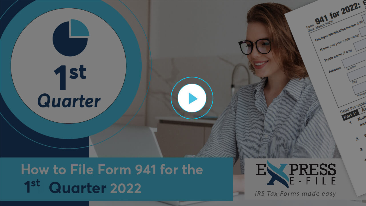 How to File Form 941 for 4th Quarter