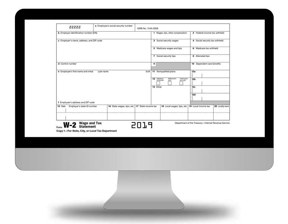 Create Free Printable 2018 W2 Form Online E File Just 1 49
